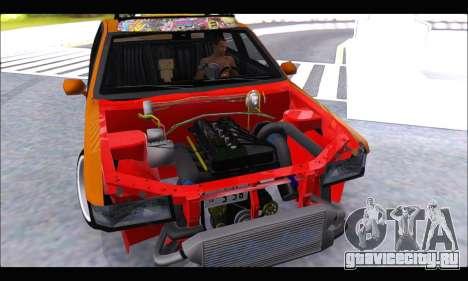 Taxi Extreme Tuning (Hellalfush) для GTA San Andreas вид справа