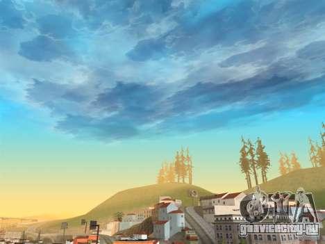 Реалистичное небо для GTA San Andreas третий скриншот