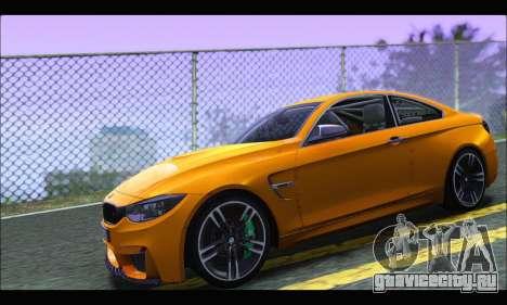 BMW M4 F80 Coupe 1.0 2014 для GTA San Andreas вид слева