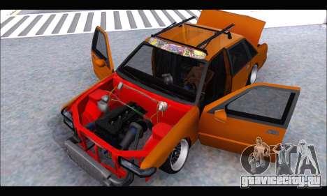 Taxi Extreme Tuning (Hellalfush) для GTA San Andreas вид сзади