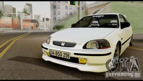 Honda Civic 1.4 Mehmet ALAN для GTA San Andreas