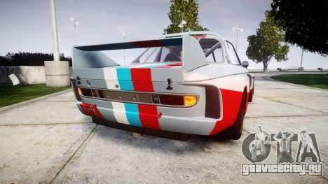 BMW 3.0 CSL Group4 для GTA 4 вид сзади слева