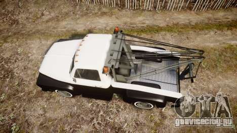 Vapid Towtruck Restored striped tires для GTA 4