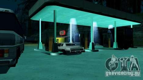 Оживление заправок San Fierro Country для GTA San Andreas двенадцатый скриншот
