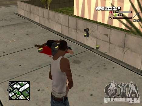CLEO HUD by SampHack v.20 для GTA San Andreas второй скриншот