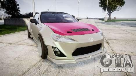 Toyota GT-86 RocketBunny для GTA 4