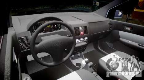 Hyundai Getz 2006 for ENB для GTA 4 вид изнутри