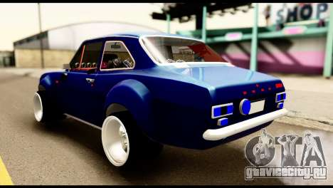 Ford Escort MK1 Modifive для GTA San Andreas вид слева