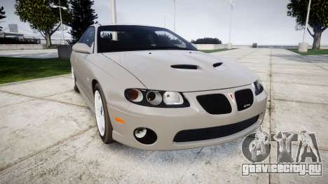 Pontiac GTO 2006 17in wheels для GTA 4
