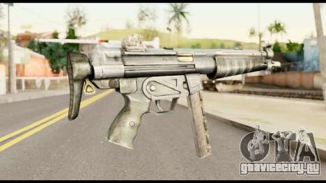 MP5 со Сложенным Прикладом для GTA San Andreas второй скриншот