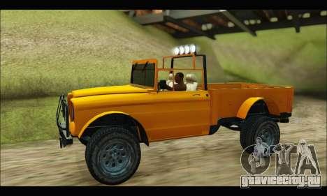 Canis Bodhi (GTA V) для GTA San Andreas вид справа