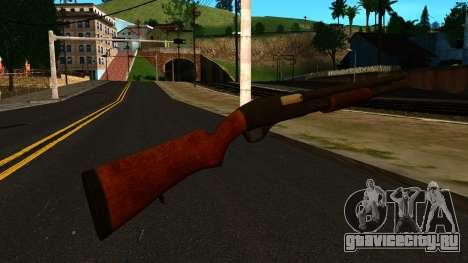 Деревянный MP-133 Без Блеска для GTA San Andreas второй скриншот