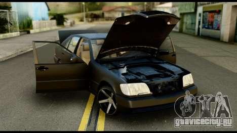 Mercedes-Benz 600SEL для GTA San Andreas вид справа