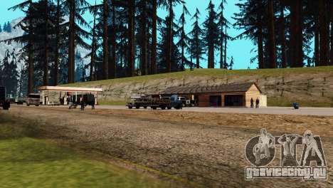 Оживление заправок San Fierro Country для GTA San Andreas седьмой скриншот