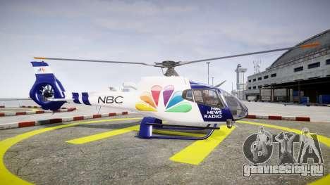 Eurocopter EC130 B4 NBC для GTA 4 вид слева