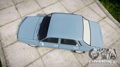 Dacia 1300 v2.0 для GTA 4 вид справа