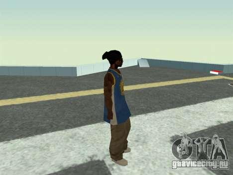 Ballas1 New Skin для GTA San Andreas четвёртый скриншот