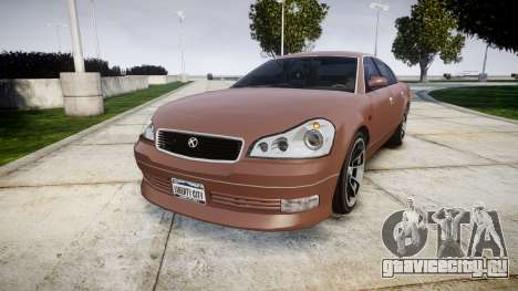 GTA V Karin Intruder Tuning Rims для GTA 4