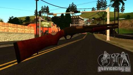 Деревянный MP-133 с Блеском для GTA San Andreas третий скриншот