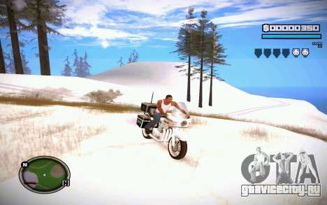 HUD GOSKA для GTA San Andreas второй скриншот