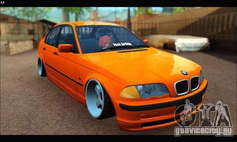 BMW e46 Sedan для GTA San Andreas