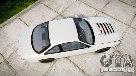 Nissan Silvia S14 Missile для GTA 4 вид справа