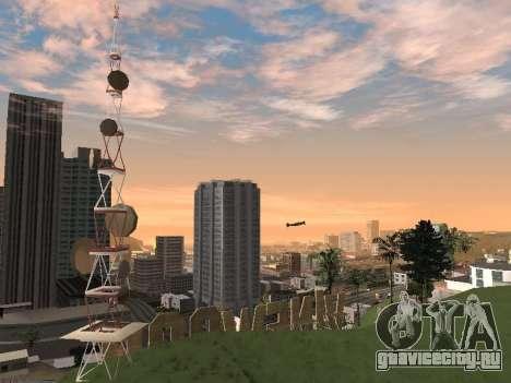 Real California Timecyc для GTA San Andreas десятый скриншот