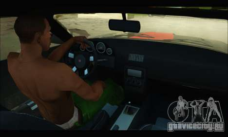 Bravado Gauntlet (GTA V) для GTA San Andreas вид сзади