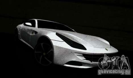Ferrari FF для GTA Vice City вид сзади слева