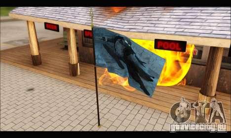 Flag Spiderman Noir для GTA San Andreas второй скриншот