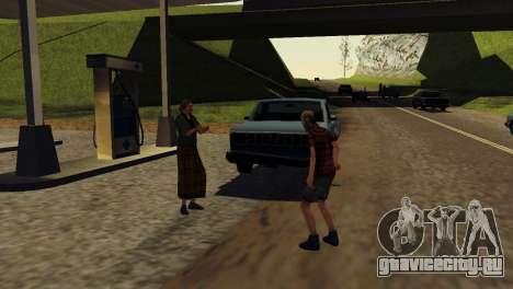 Оживление заправок San Fierro Country для GTA San Andreas