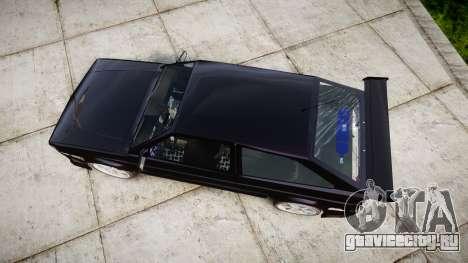 Volkswagen Gol GTI для GTA 4 вид справа