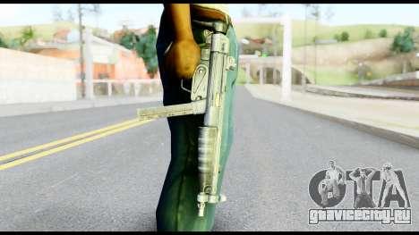 MP5 со Сложенным Прикладом для GTA San Andreas третий скриншот