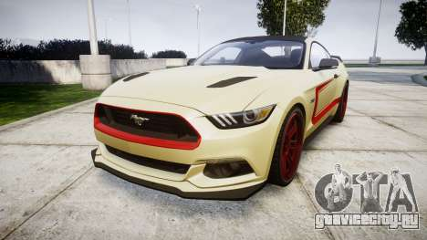 Ford Mustang GT 2015 Custom Kit red stripes для GTA 4