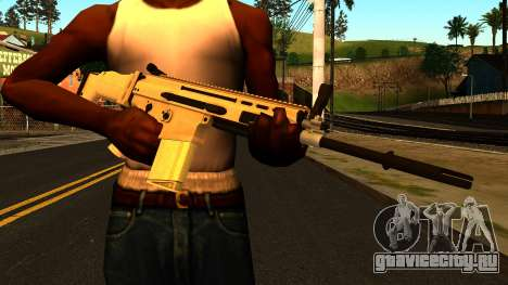 FN SCAR-H from Medal of Honor: Warfighter для GTA San Andreas третий скриншот