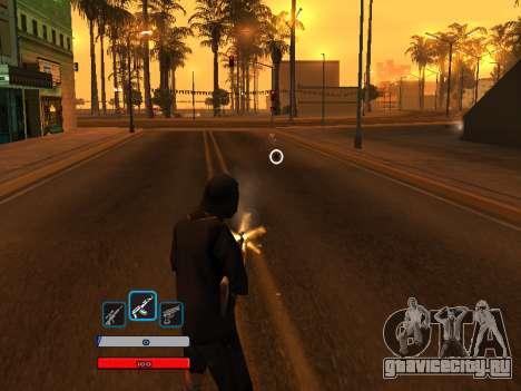 C-HUD by Fawkes (Fix) v2 для GTA San Andreas третий скриншот