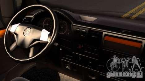 ГАЗель 3221 2007 для GTA San Andreas вид сзади слева