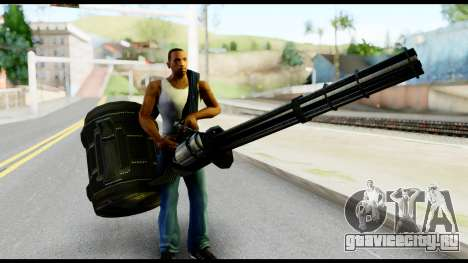Raven Vulcan Gun from Metal Gear Solid для GTA San Andreas третий скриншот