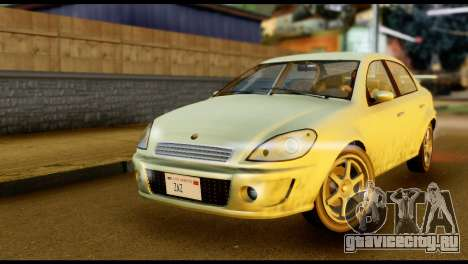 DeClasse Premier from GTA 5 для GTA San Andreas