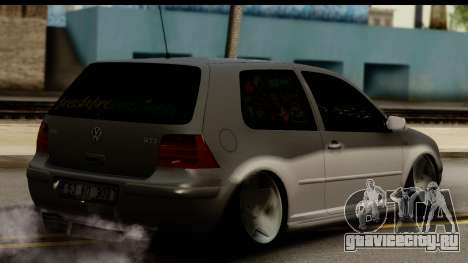 Volkswagen Golf 4 Tuning для GTA San Andreas вид слева