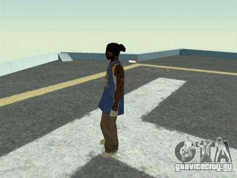 Ballas1 New Skin для GTA San Andreas третий скриншот
