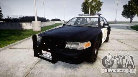 Ford Crown Victoria Highway Patrol [ELS] Liberty для GTA 4