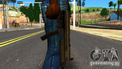 MP5 from GTA 4 для GTA San Andreas третий скриншот