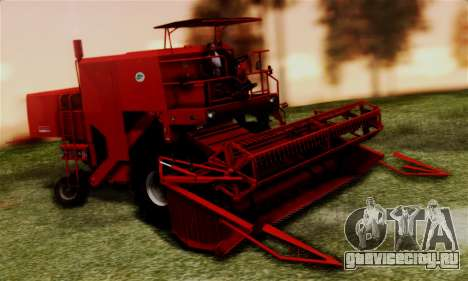 FMZ BIZON Super Z056 1985 Red для GTA San Andreas