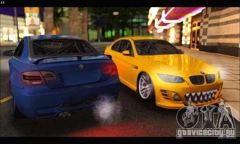 BMW M3 GTS 2010 для GTA San Andreas вид справа