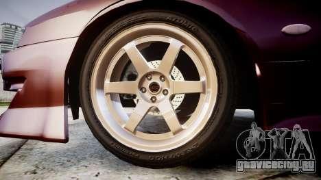 Nissan Silvia S14 Sil80 для GTA 4 вид сзади