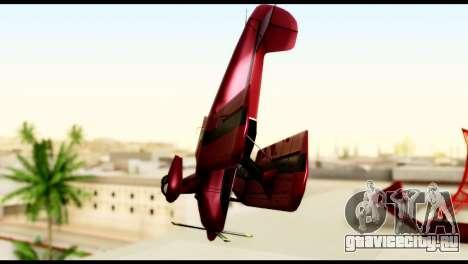 Beta Stuntplane для GTA San Andreas вид сзади