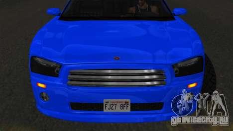 Bravado Buffalo Sedan v1.0 (IVF) для GTA San Andreas вид сзади слева