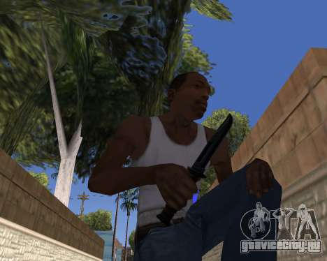 HD Weapon Pack для GTA San Andreas третий скриншот