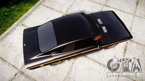Opel Manta A Black Magic для GTA 4 вид справа